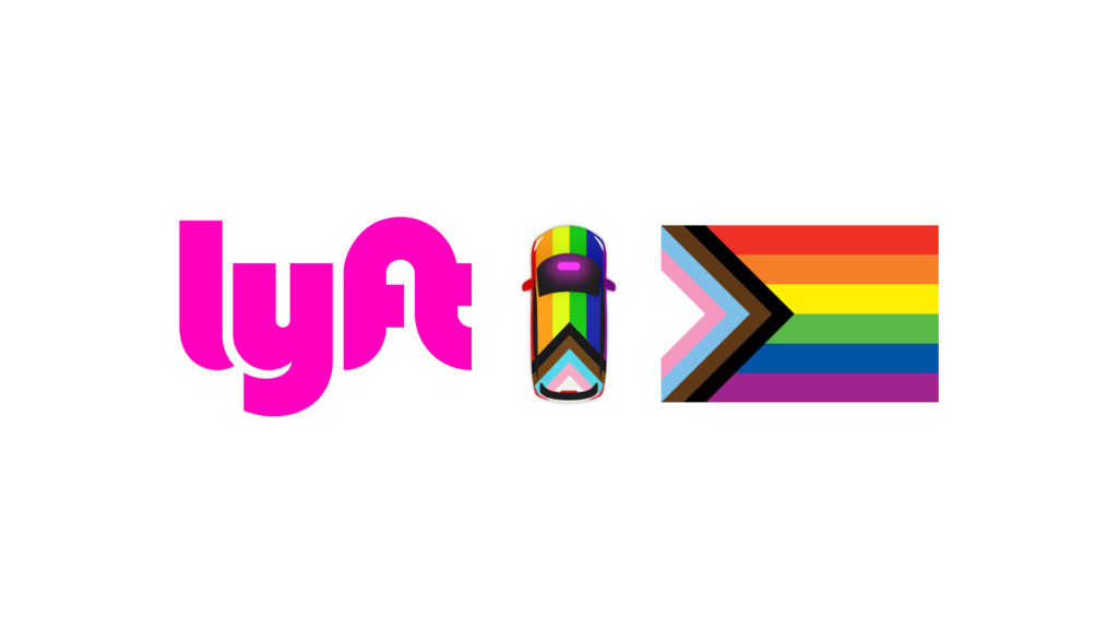 Wrapping Lyft rides in Pride - 2019 Feature